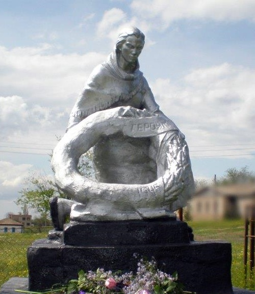 Mourning mother monument. Kormovoe village, Rostov region