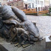 Nuremberg, monument to hare
