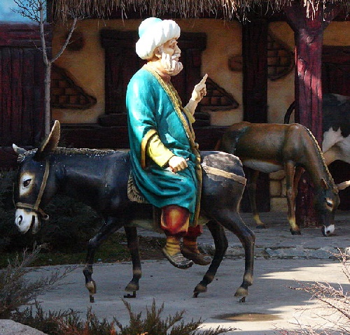 Ankara, Turkey monument to Nasreddin Hodja