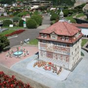 Architecture in miniature attracts tourists and photographers