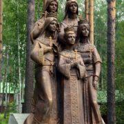 Princesses Olga, Tatiana, Maria, Anastasia and Prince Alexei