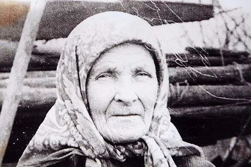 Resident of the village of Bub of Sivinsky district of Perm region Matryona Ivanovna Yakovleva (1894-1995)