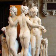 Roman copy of Greek sculpture II century AD, Louvre
