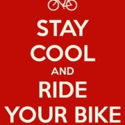 Stay cool and ride your bike