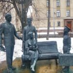 Monument to the 1971 Soviet film Officers