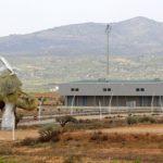 Castellon-Costa Azahar Airport giant monument