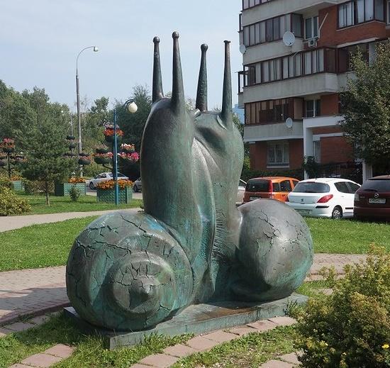 Snails in love. Kurkino