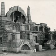 1940s photo of the monument-mausoleum