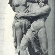 Abduction of Proserpine by Pluto. Sculptural group in front of the faculty of the Mining Institute. 1811