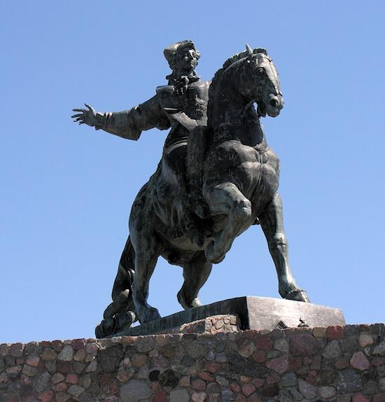 Russian Empress Elizabeth Petrovna monuments