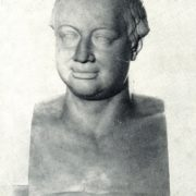 Bust of M.V. Lomonosov. 1821