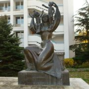 Evpatoria, Crimea. Monument to motherhood