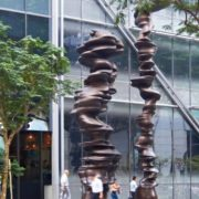 'From the Points of View, modern 2012 sculpture by Tony Cragg