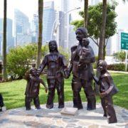Happy family monument