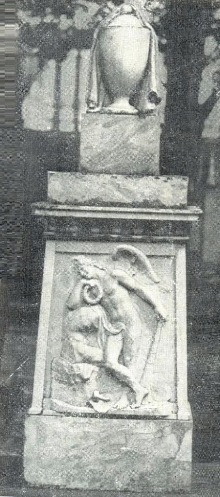 Headstone of M.I. Kozlovsky. 1803