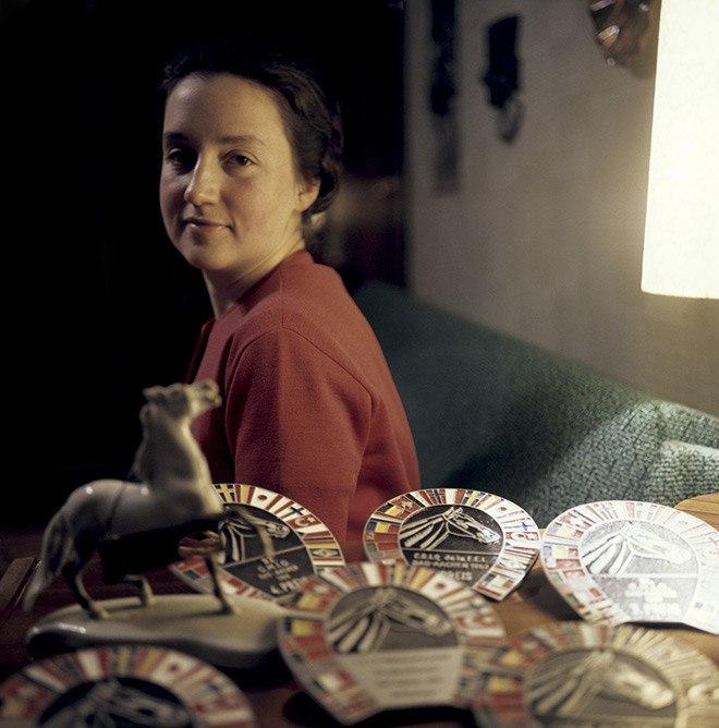 Many-awarded sportswoman Elena Petushkova