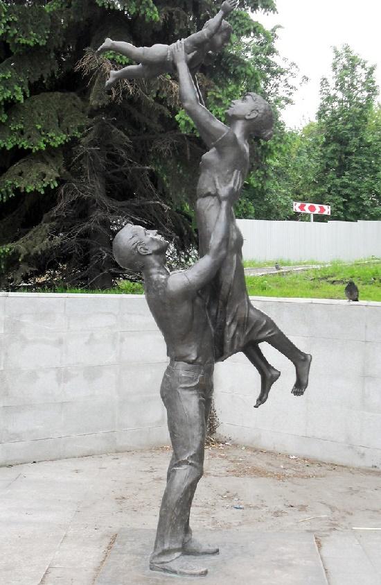 Nizhny Tagil, Russia. Family monument