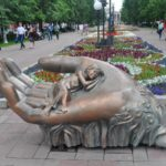 Quit smoking sculptural composition in Khabarovsk