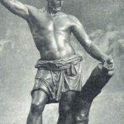 The Russian Scaevola. 1813. (famous for his bravery Roman youth Gaius Mucius Scaevola)