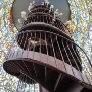 The Tatlin's tower (Soviet avant-garde artist and architect). Hakone Open-Air Museum