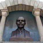 Vladimir Lenin monument-mausoleum in Chelyabinsk