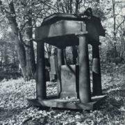 R. Simpson. 1820's. Iron, Smolensk (Lutheran) cemetery