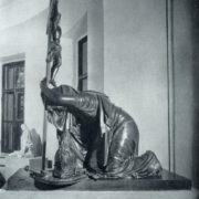The tomb of VD Novosiltsev. Early XIX century. Bronze, marble. Moscow, Golitsyn Tomb of the Donskoy Monastery