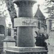 The tomb of architect A.N. Voronikhin. After 1814
