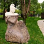 Zodiac signs sculptural park in Moscow