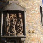 Behind the Amazing Samson monument in Orenburg
