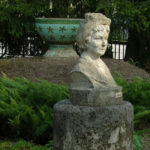 First female opera director Natalia Sats monument