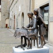 Italian sculpture to lace makers