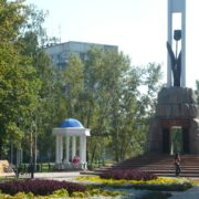 Novokuznetsk memorial Black Tulip