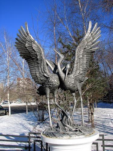 Tobolsk storks