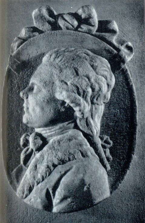 F.I. Shubin. Portrait for a gravestone. 1780s. Marble. Petersburg, Annunciation tomb of The Alexander Nevsky Lavra