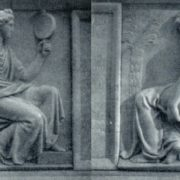 Fragments of the tomb of AI Vasiliev. 1807 -1810. Marble, granite