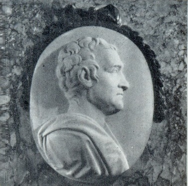 The tomb of AA Naryshkin. Fragment. 1798. Marble. Petersburg, the Alexander Nevsky Lavra