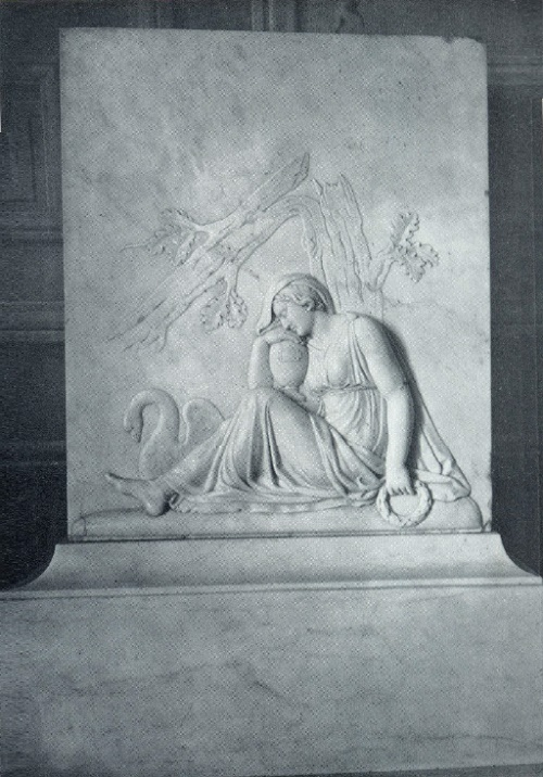 The tomb of AI Zagryazhsky. 1824. Marble. Pavlovsk, the Palace Museum