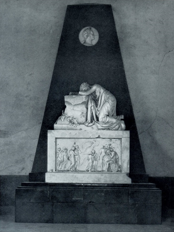 Monument to Paul I (for his mausoleum). 1805-1808. Marble. Pavlovsk, the Palace Museum