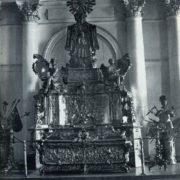 Sanctuary of Alexander Nevsky 1740-1750-ies. Silver. Hermitage. Petersburg. Unknown wizard
