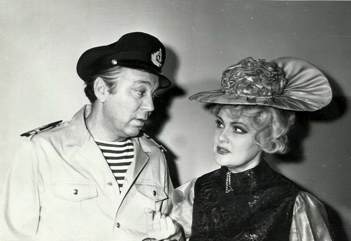 Soviet Actor Mikhail Vodyanoi