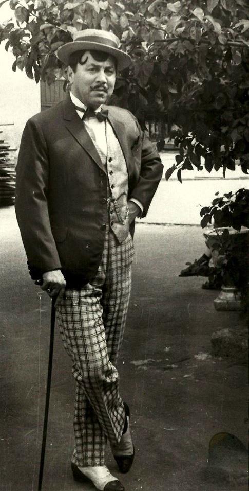 The King of the Operetta Mikhail Vodyanoy - Mikhail Grigoryevich Vasserman (December 23, 1924 - September 11, 1987)