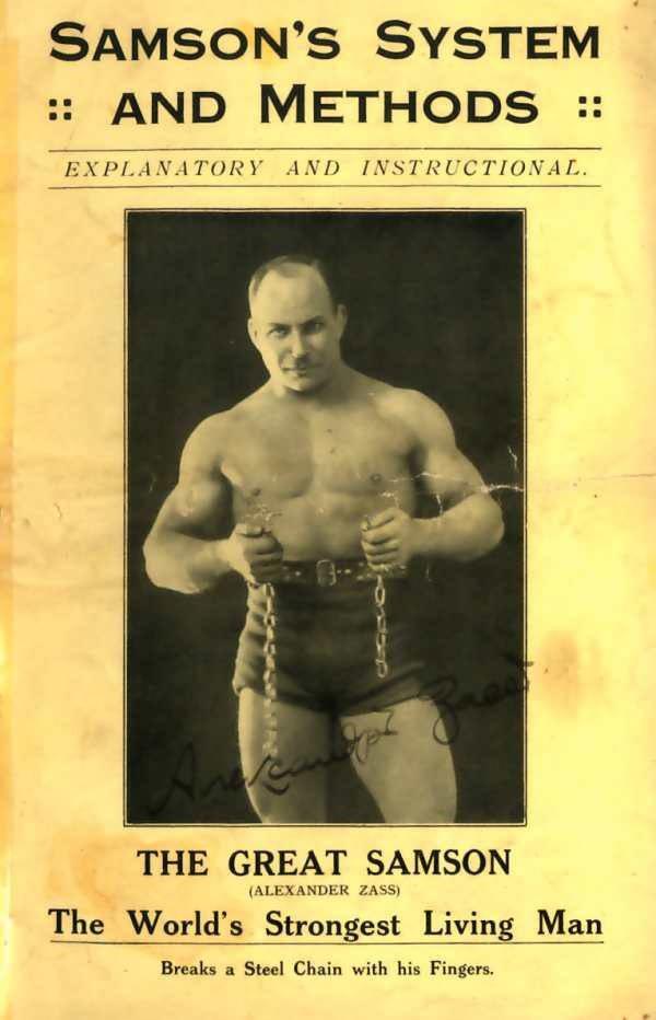 The World's strongest living man - Alexander Zass. Poster