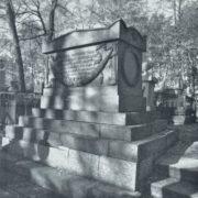 The tomb of A. A. Polyansky 1818. Cast iron. Petersburg. Necropolis of the XVIII century Alexander Nevsky Lavra. Unknown wizard