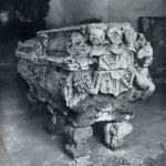 Ancient Russian tomb sculpture by unknown masters