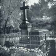 Unknown master. Gravestones of VG Belinskiy and NA Dobrolyubov. The end of the 1860s. Granite. Literary bridges Volkov cemeteries