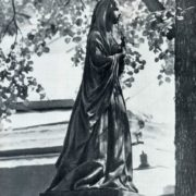 ZA Butovskaya's tomb, 1863. Work by unknown master. Bronze, granite. Moscow, Necropolis of the Donskoi Monastery
