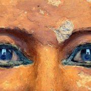 Closeup - Sitting scribe Kai