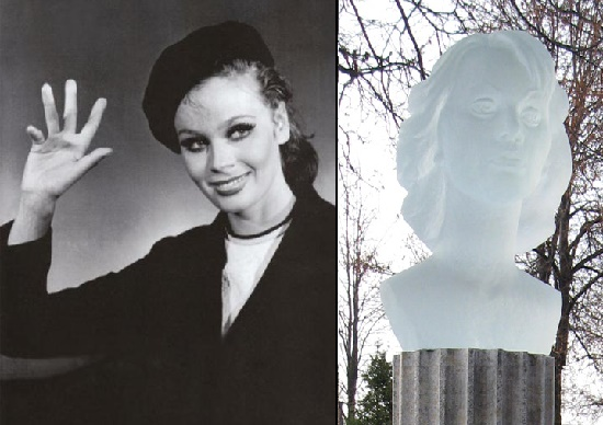 Embodied in crystal, one of the most beautiful and stylish actresses of Russia - Lyubov Polishchuk
