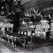 Interior of hunting house of Kaiser Wilhelm II
